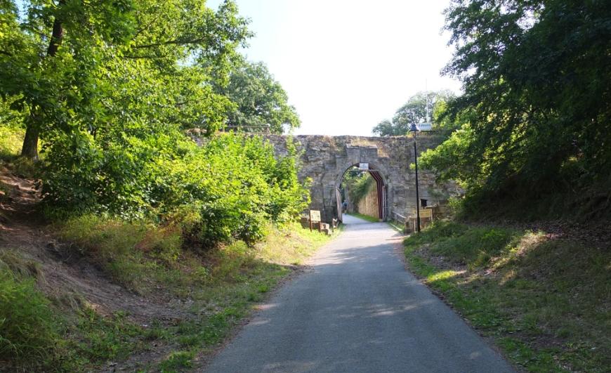 Tor zur Festung Regenstein