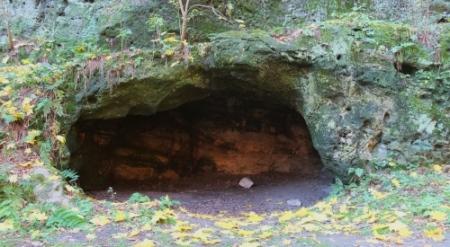 Sandsteinhöhlen am Regenstein, nordöstliche Route