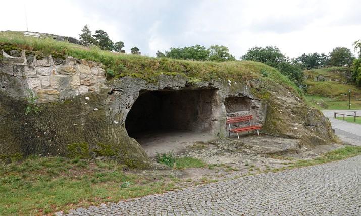 Festung Regenstein: Felskasematte und Raubgrafentunnel.