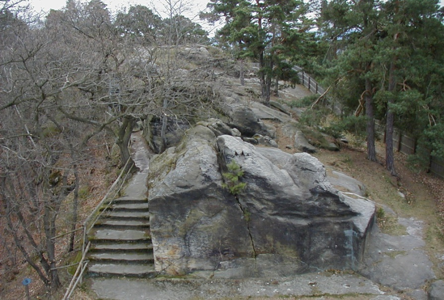 Festung Regenstein, Bollwerk Neu Brandenburg. (Foto: April 2003)