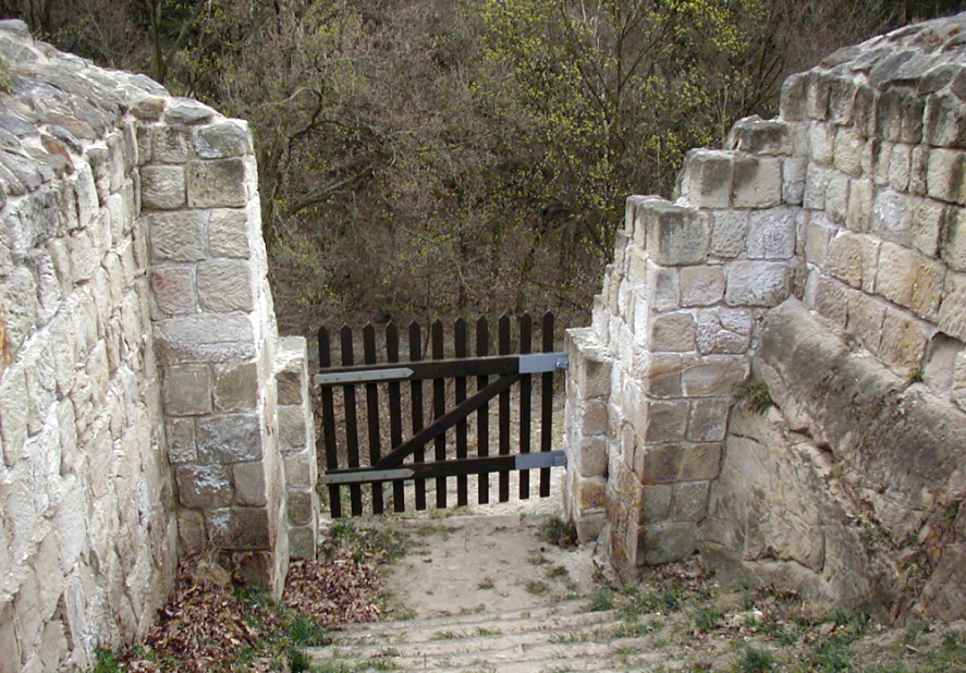Festung Regenstein, Infanterieausgang der Bastion Friederichsburg