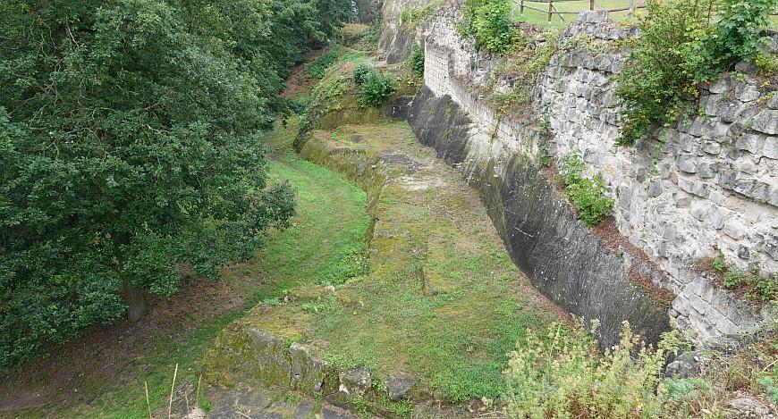 Festung Regenstein - Infanterieausgang der Bastion Friederichsburg (Foto: 2020)