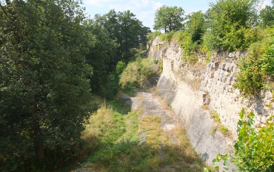 Festung Regenstein - Bastion Friederichsburg