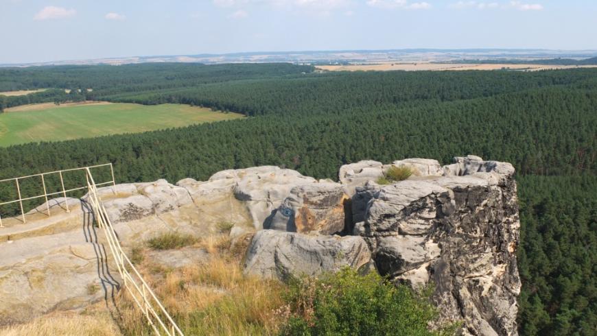 Burg Regenstein, der Verlorene Posten