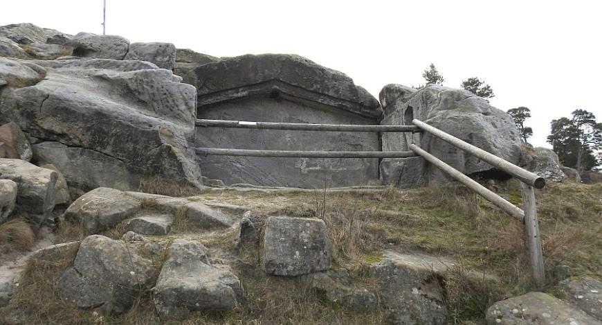 Festung Regenstein, Felskasematte.
