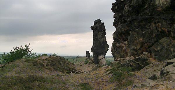 Teufelsmauer im Harz.