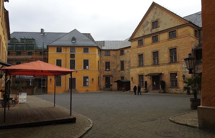 Schloss Blankenburg - Innenhof