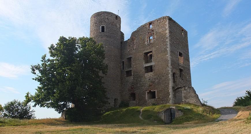 Burgruine Arnstein - Palas