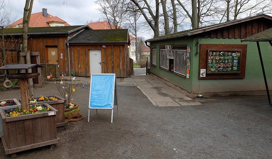 Zoo Aschersleben - Eingangsbereich