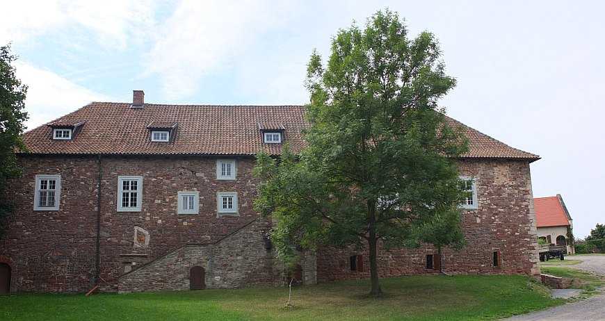 Konradsburg - Hauptgebäude