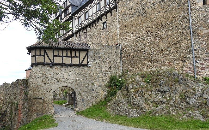 Burg Falkenstein - Tor 2
