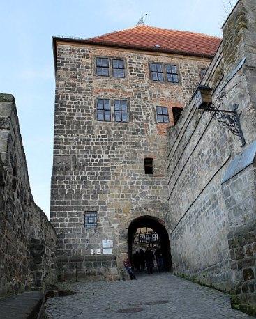 Schloss Quedlinburg - Haupteingang