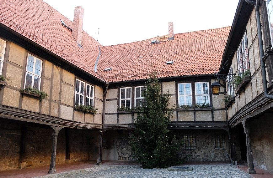 Schloss Quedlinburg - Hof der mittelalterlichen Burg