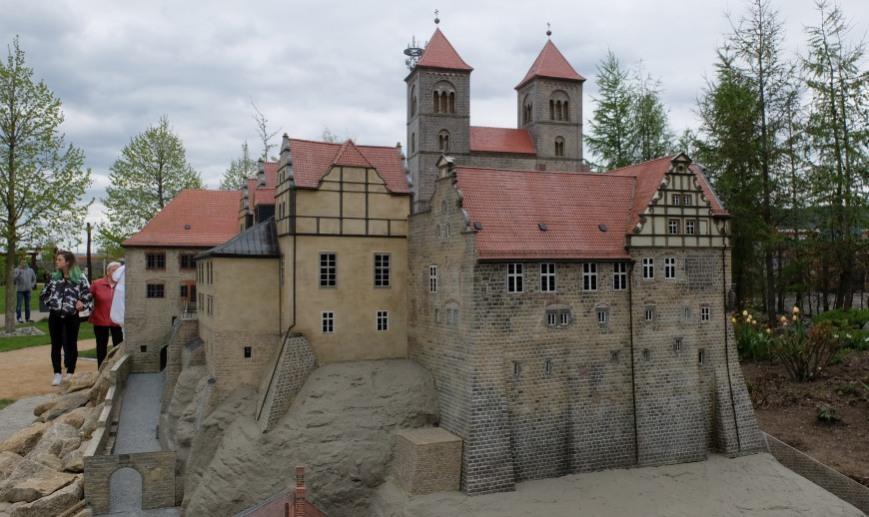 Modell Schloss Quedlinburg