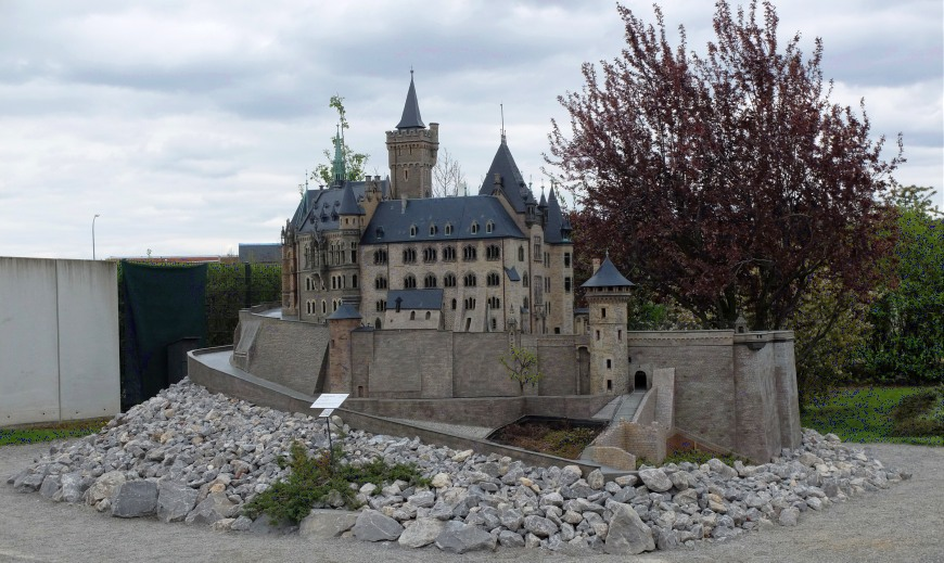 Modell Schloss Wernigerode