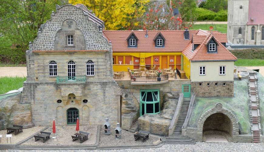 Modell Jagdschloss Halberstadt