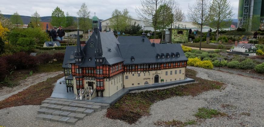 Modell vom Rathaus Wernigerode