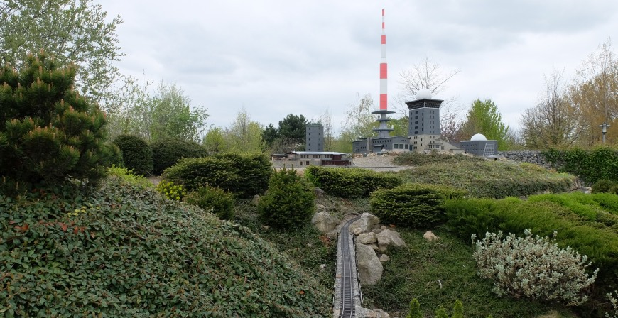 Der Brocken im Minaturenpark