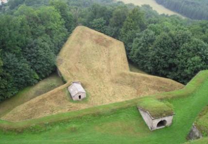 Ravelin der Festung Königstein