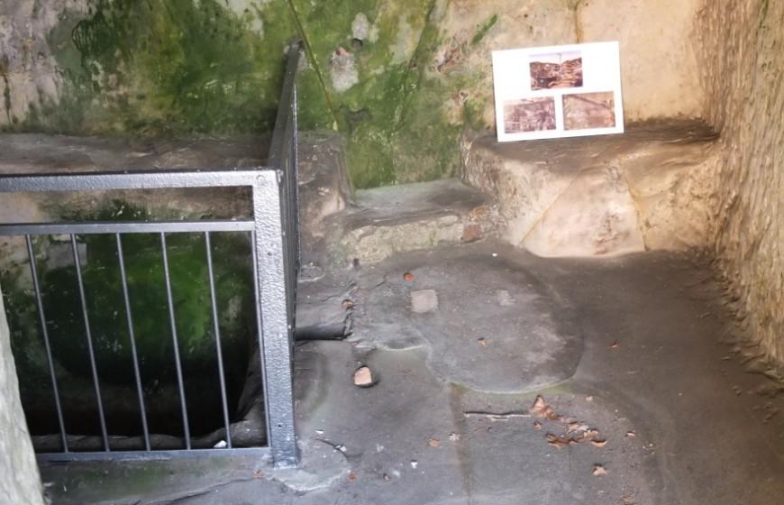 Felsenburg Regenstein - das Gefängnis. Foto: G. Silex