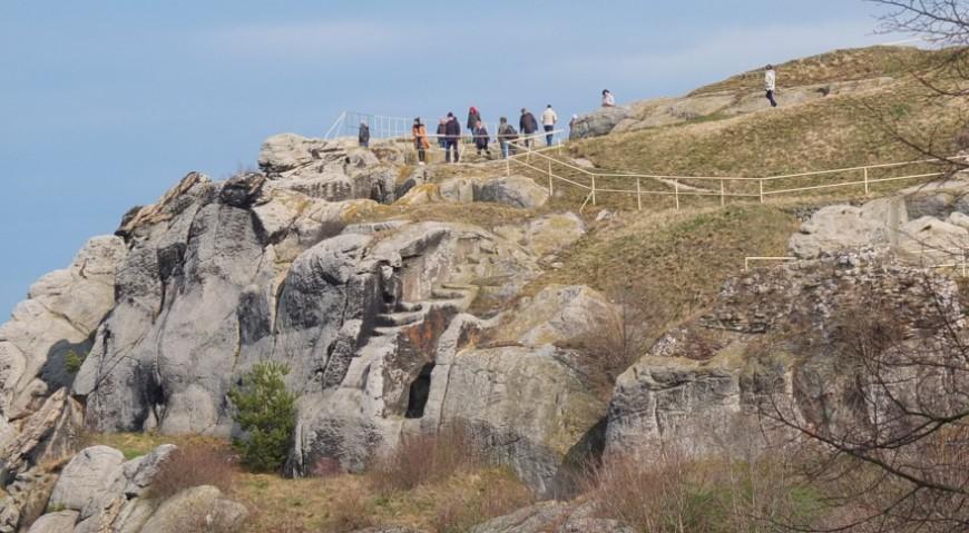 Burgruine Regenstein - nicht zugängliche Bereiche. Foto: G. Silex