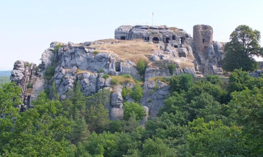 Ruine Burg Regenstein - Ansicht 2013