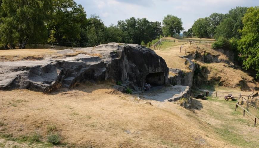 Festung Regenstein - Der sogenannte Abschnitt. (Foto: 2018)