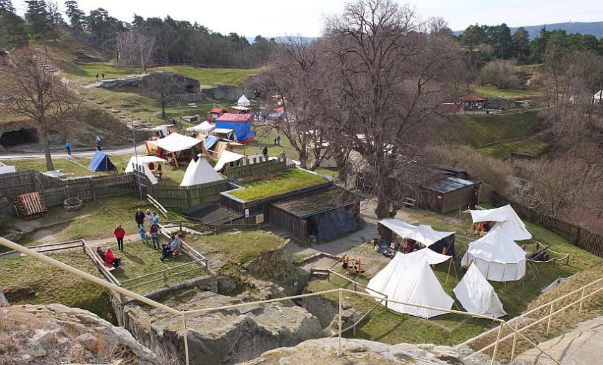 Burg Regenstein - Wikingerfestspiele Ostern 2016 (Foto: G. Silex)