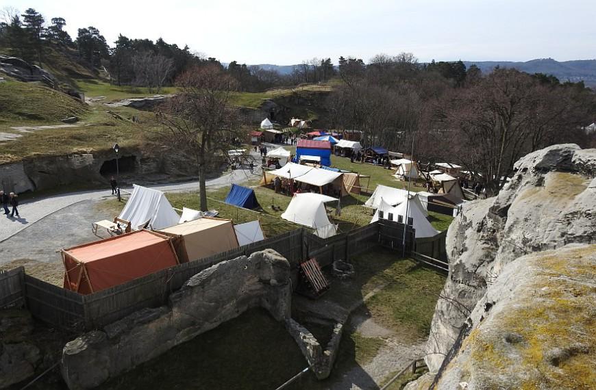 Burg Regenstein - Wikingerfestspiele Ostern 2016