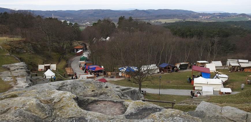 Burg Regenstein - Wikingerfestspiele 2016. (Foto: G. Silex)