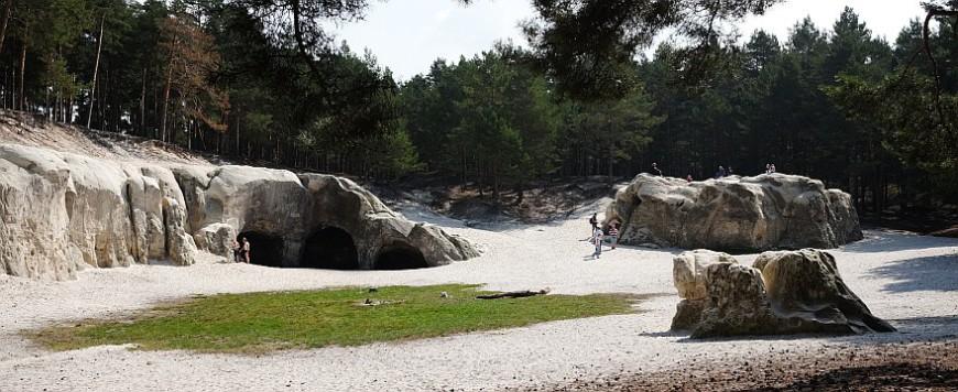 Sandhöhlen am Regenstein