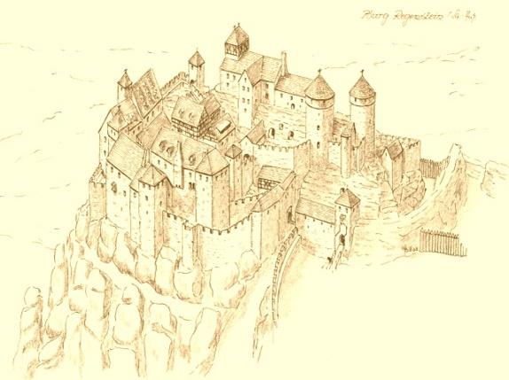 Rekonstruktionszeichnung (W. Braun)