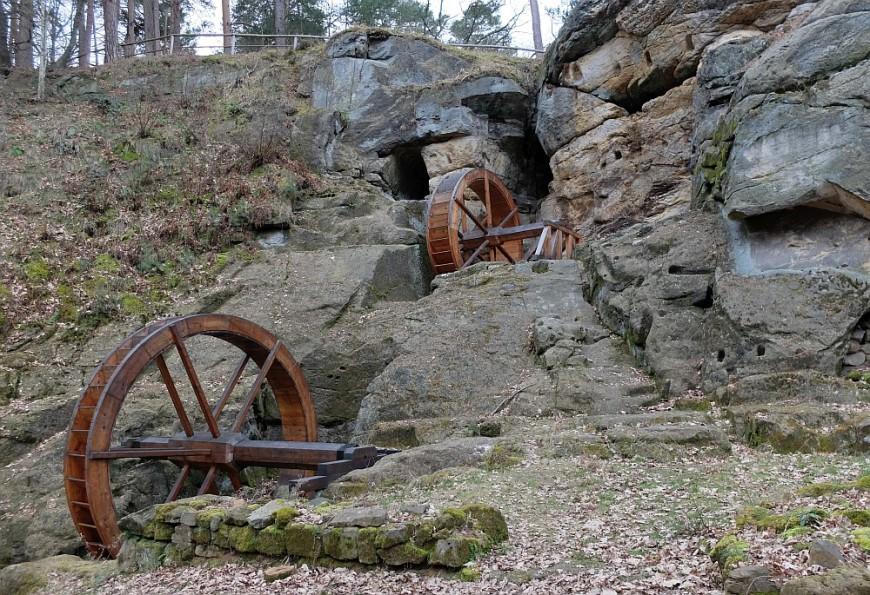 Burg Regenstein - die Regensteinmühle