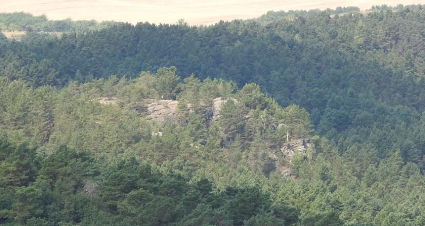 Festung Regenstein - Der Papenberg