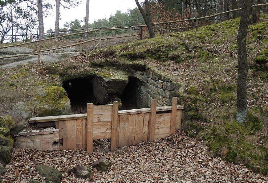 Burg Regenstein - Mühlgraben zur Regensteinmühle