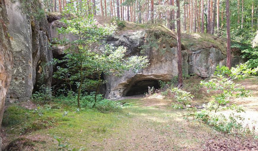 Burg Regenstein - nordwestliche Sandhöhlen