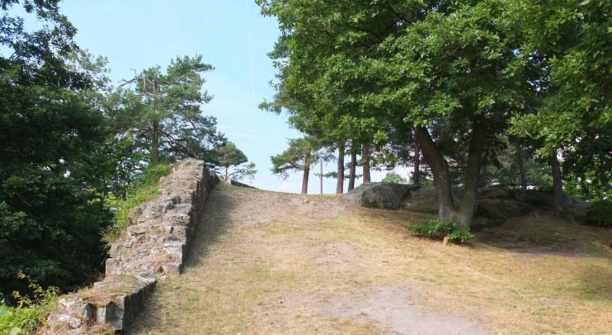 Festung Regenstein, Aufgang zur Bastion Scharfe Ecke