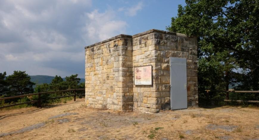 Festung Regenstein - Wasserbehälter. (Foto: 2018)