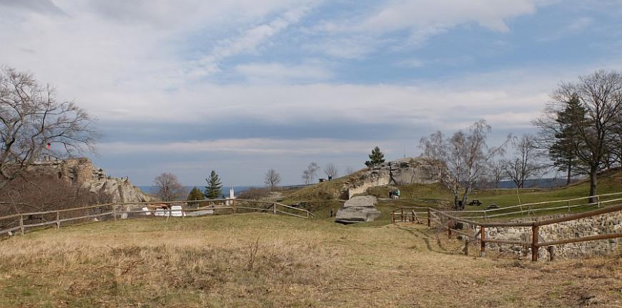Festung Regenstein - Bastion Friederichsburg. (Foto: 2016)