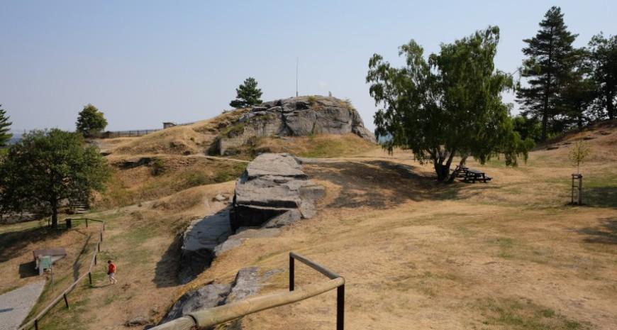 Festung Regenstein - Festungsgelände. (Foto: 2018)
