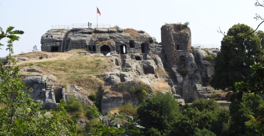 Burg Regenstein - Reste der Felsenburg