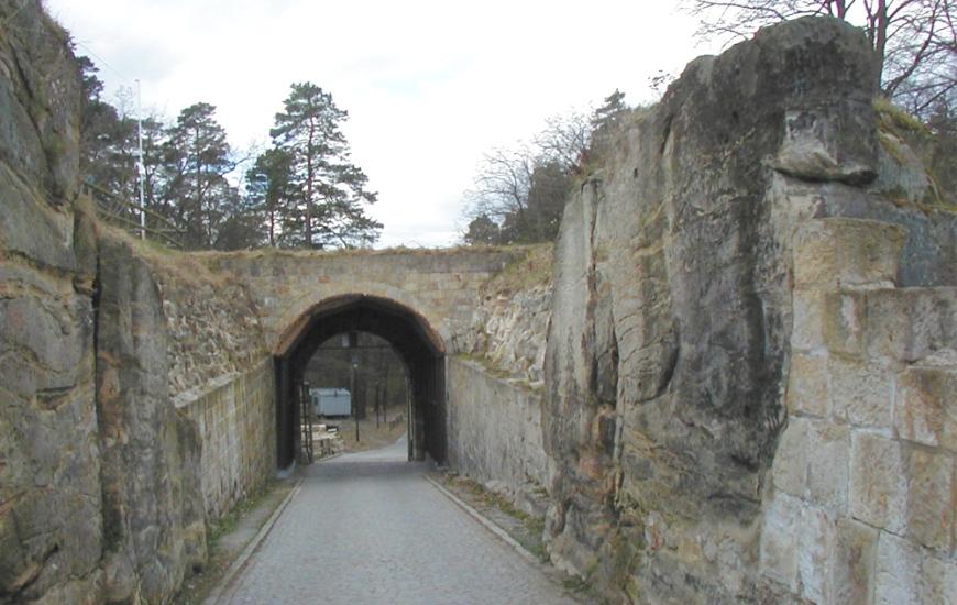 Festung Regenstein - Toranlage von Innen