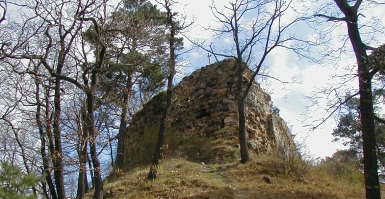 Festung Regenstein - Spitze der Bastion Scharfe Ecke