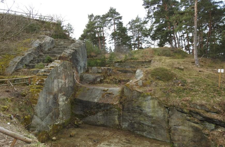 Festung Regenstein - Bastion Friedrichsburg mit Erdschanze