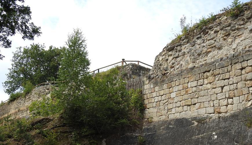 Festung Regenstein - Infanterieausgang an der Bastion Friedrichsburg