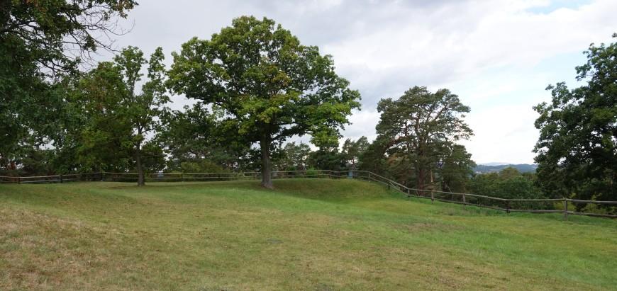 Festung Regenstein - Ansicht der Bastion (Foto: 08/2020)