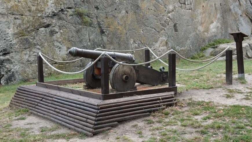 Festung Regenstein - Kanone (Foto:08/2020)