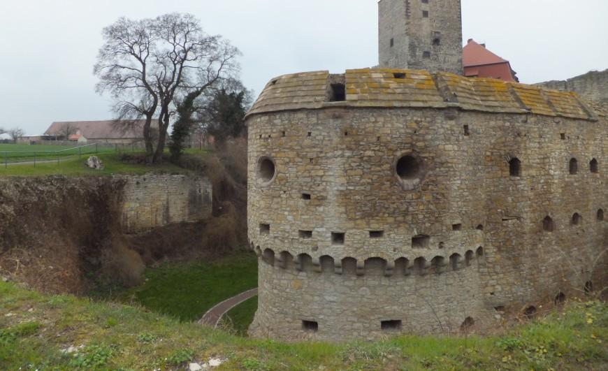 Burg Querfurt - Geschützrondell