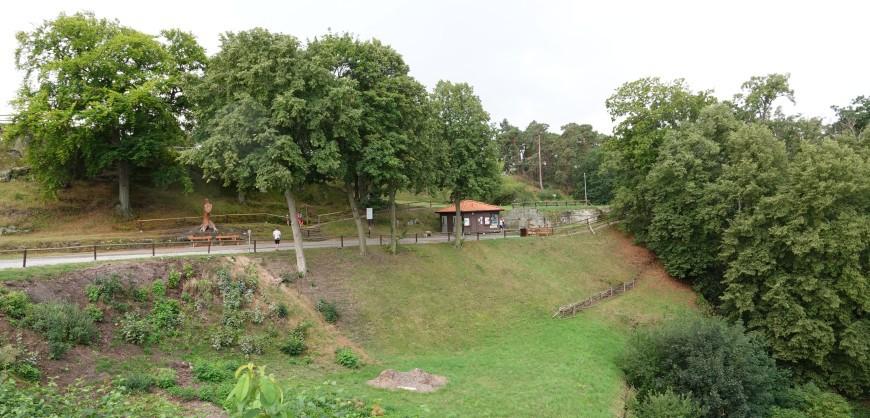 Festung Regenstein - Westseite (Foto: 08/2020)