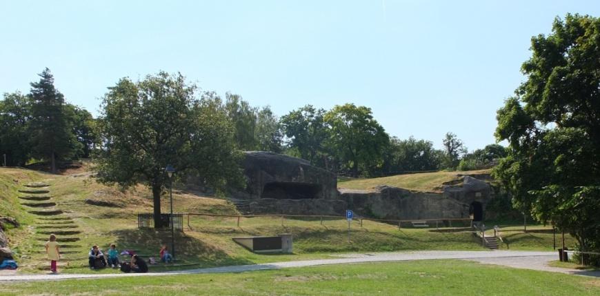 Festung Regenstein - Felskasematte und Raubgrafentunnel. (Foto: 2013)